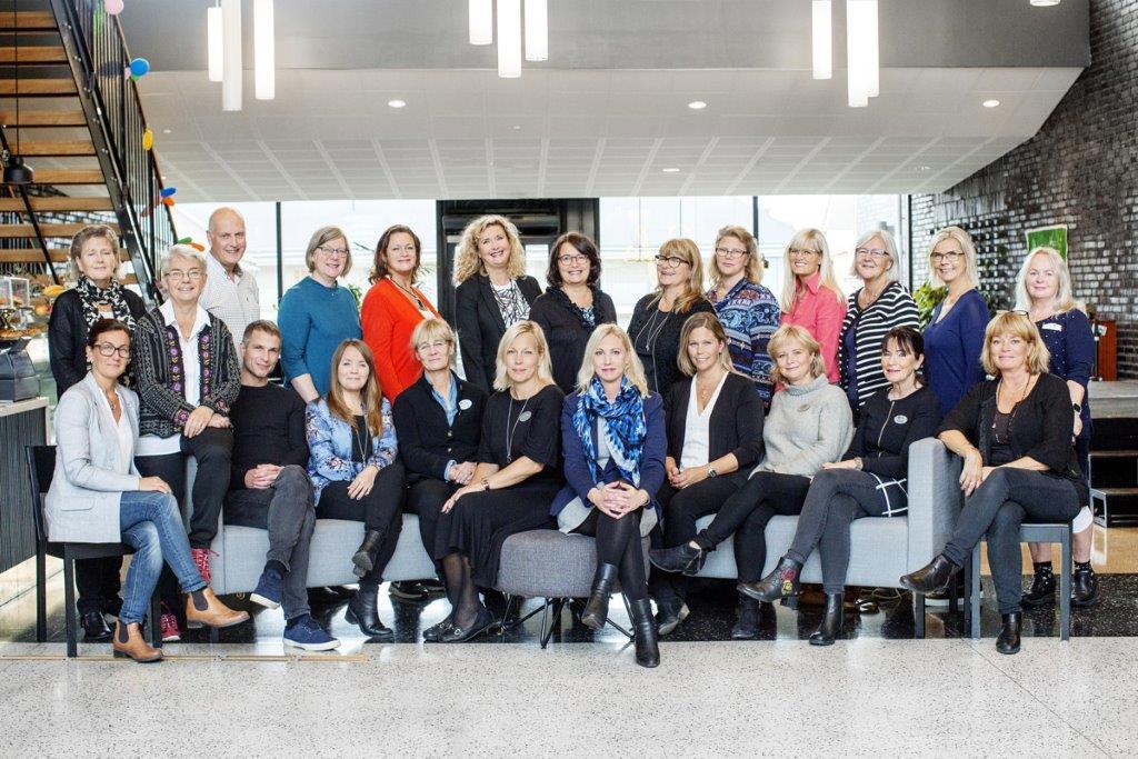 Sigtuna kommuns rektorer och förvaltningschefer samt Barn- och ungdomsnämndens ordförande Pernilla Bergqvist (L)